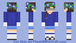 Skin Trade with Aqua_Aquarius! -Wolfsies- Minecraft Skin