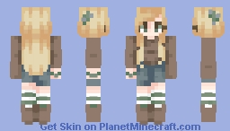 You Don't Have to Change a Single Thing, Just Get Up~ // SkinTrade Minecraft Skin