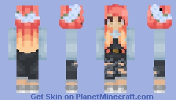 issa girl Minecraft