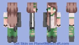I Don't Want to Live My Life in Circles~ Minecraft Skin