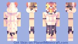 もののけ姫 Mononoke Hime Minecraft Skin