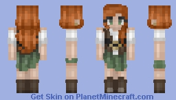 Waves rise in calm waters Minecraft Skin