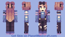 Oops, My Hand Slipped || Contest Entry Minecraft Skin