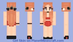 Cheryl Blossom Minecraft Skin