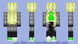 Toxic apples (looks better in 3D) Minecraft Skin