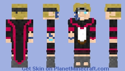 Older Boruto Minecraft Skin