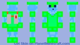 Slimemaster Minecraft Skin