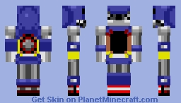 Metal Sonic - Sonic CD Minecraft Skin