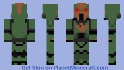 Sons of Horus Space Marine Lieutenant Minecraft Skin