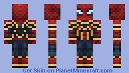 Spider-Man (Infinity War) Minecraft Skin