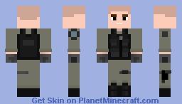 Stargate Soldier Variant 3 Minecraft Skin