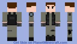 Stargate Soldier Variant 2 Minecraft Skin
