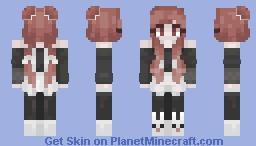 ♥ 𝓢𝓽𝓻𝓪𝓷𝓰𝓮 𝓐𝓽𝓽𝓻𝓪𝓬𝓽𝓲𝓸𝓷 ♥ ~『𝕊𝕚𝕠𝕦𝕩』 Minecraft Skin