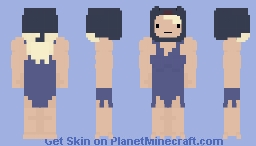 Susan Strong - Adventure Time Minecraft Skin