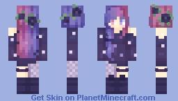 ♫*.:。яєℓιєf。:.*♫   Counting Stars [ST] Minecraft Skin