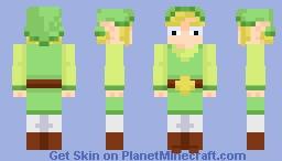 Link (Wind Waker) Minecraft Skin