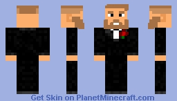 Conor Mcgregor in a suit Minecraft Skin