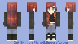 Well I'm Not Waiting - ST with Ophelia Minecraft Skin