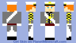 Me as a West Point Cadet Minecraft