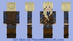 Daughter Aslin Minecraft Skin