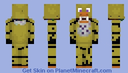 Withered Chica - FNaF 2 Minecraft Skin