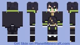 Yuichiro Hyakuya - Seraph of the End / Owari no Seraph Minecraft Skin