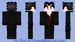Zack Branwen RWBY OC Minecraft Skin