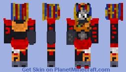 Scrap Baby(Freakshow Baby,Elizabeth Afton,UPDATED) Minecraft Skin