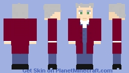 The Twelfth Doctor [Doctor Who] Minecraft Skin