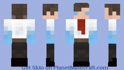 Iced Steve - 4 Bit Minecraft Skin