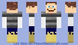 funny man Minecraft Skin