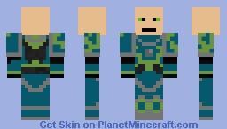 Primarch Alpharius Omegon Minecraft Skin