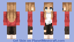 alyssa | the end of the f***ing world Minecraft Skin