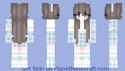 ~ Snowflake Girl ~ Minecraft Skin