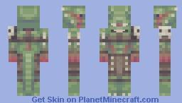 Argonian Minecraft Skin