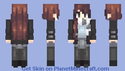 Cold Warmth (scarf looks better in 3D) Minecraft Skin