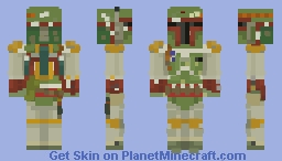 Boba Fett || Star Wars || Return of the Jedi || Episode 6 || 5th Popreel Minecraft Skin