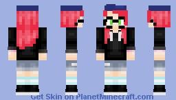ℍ𝕚𝕕𝕖𝕪 | Minecraft Story Mode; Cassie Rose Minecraft Skin