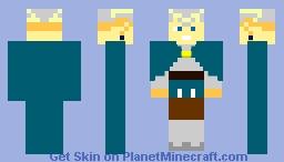 Charlotte Roselei - Black Clover Minecraft Skin