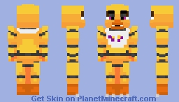 Chica The Chicken | FNaF Minecraft Skin
