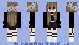 ~ A random girl xD ~ Minecraft Skin