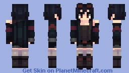 Dark Julia || Requesterino || Mission 0 Minecraft Skin