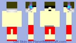 Pool dj Minecraft Skin