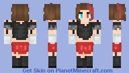 Some random girl I dunno Minecraft Skin