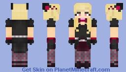 D.Va [Black cat] : Overwatch Minecraft Skin