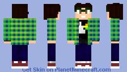 Newest skin that I use! Minecraft Skin