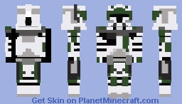 Clone Commander STAR WARS III Minecraft Skin