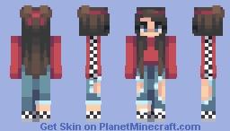 bad at love Minecraft Skin