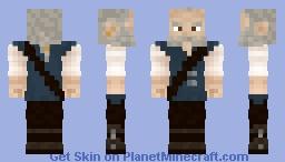 Jackus Feuermacher - Lighthouse keeper of Goldhafen Minecraft Skin