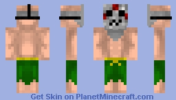 Crezy man Minecraft Skin